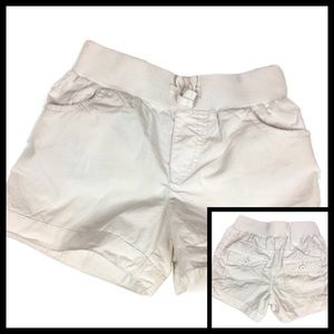Children's Place White Pull-On Shorts Size 6x/7